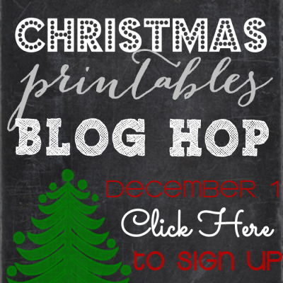 Join the Christmas Printables Blog Hop