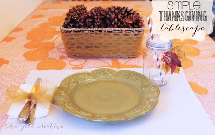 Turkey Tablescape