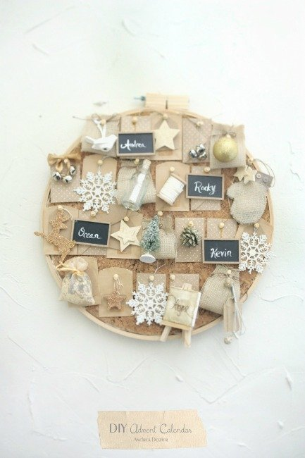 embroidery hoop advent