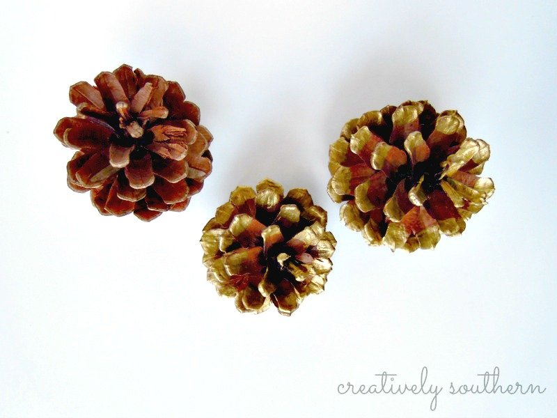 holiday-pinecones