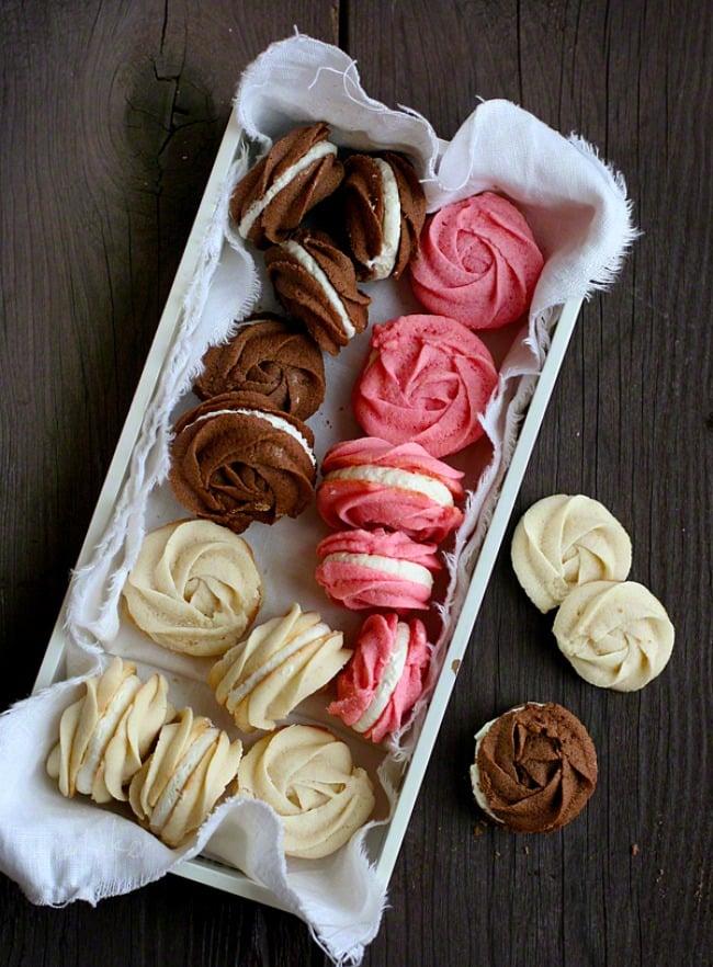 neapolitan spritz cookies