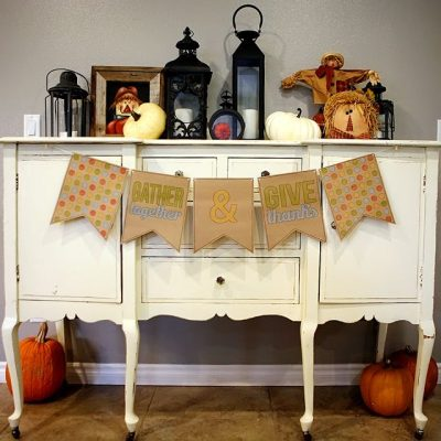 18 DIY Thanksgiving Banners