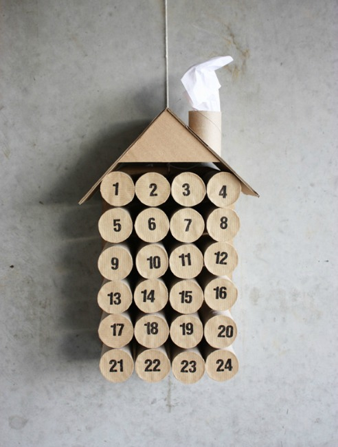 toilet paper roll advent