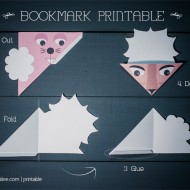 Animal Bookmark Printable