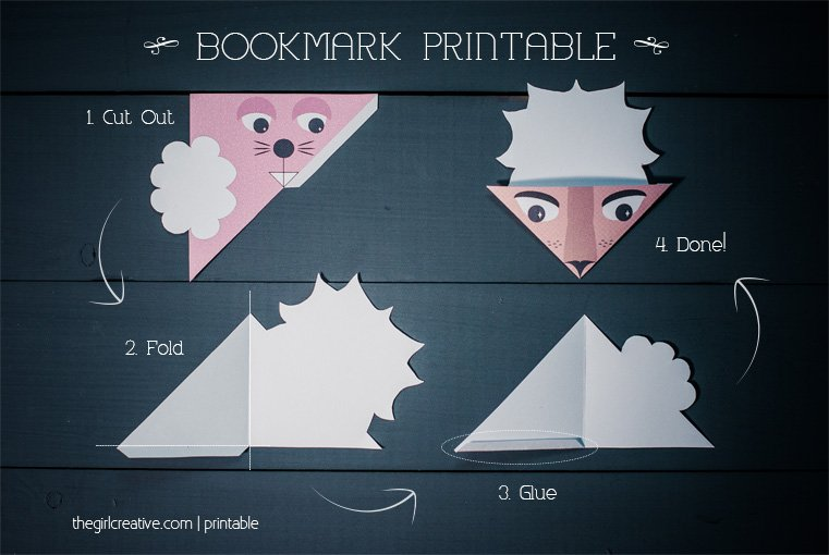 Animal Bookmarks 2