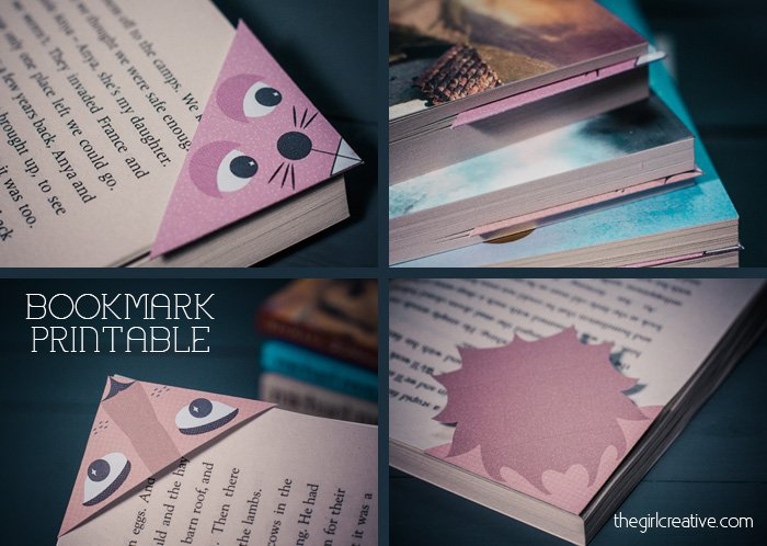 Animal Bookmarks 3