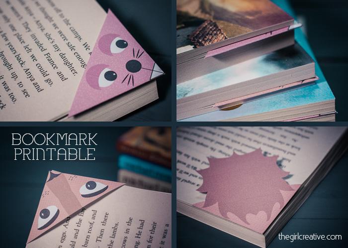 Animal Bookmarks 3