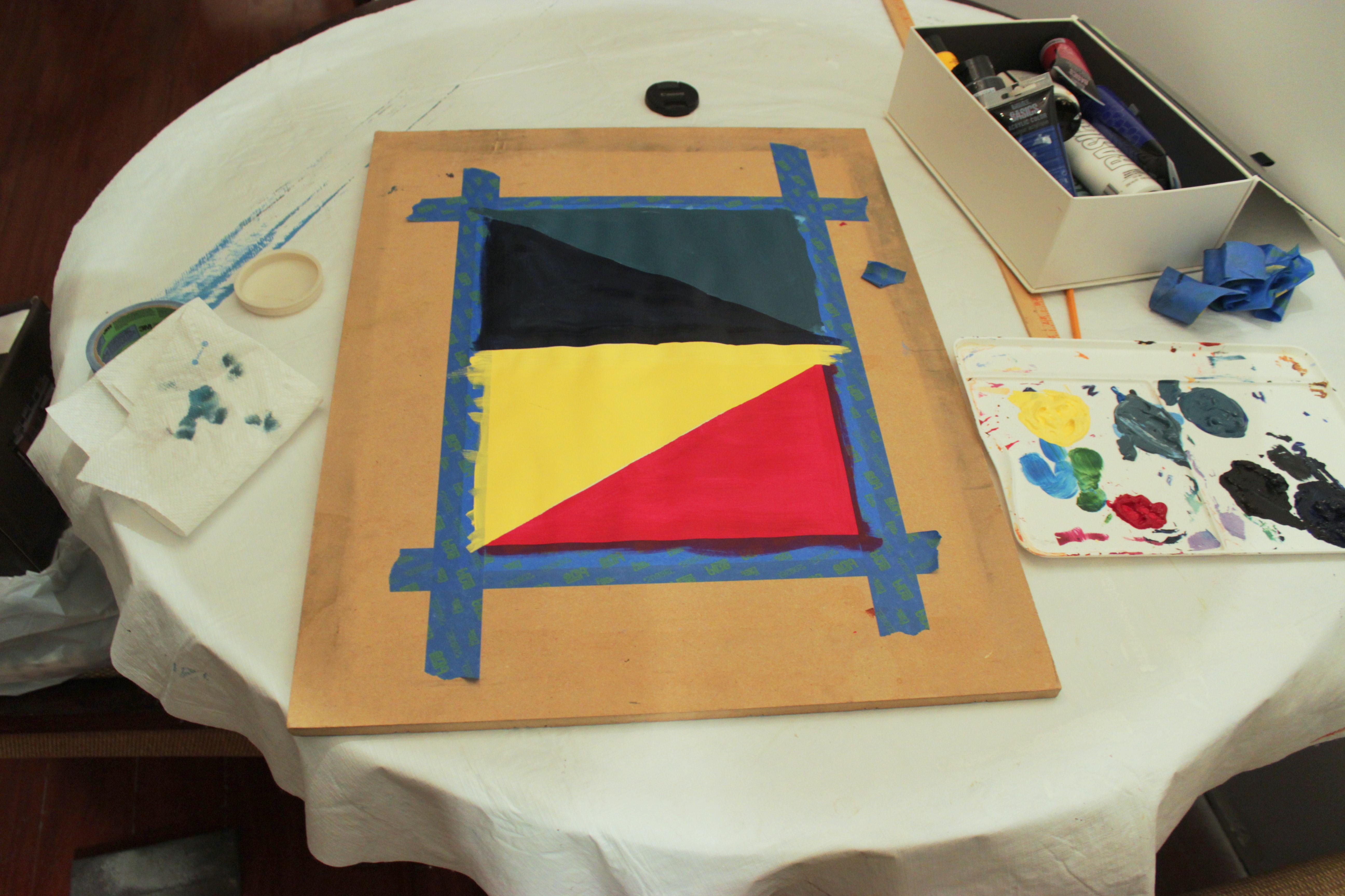 Colorful Geometric Artwork