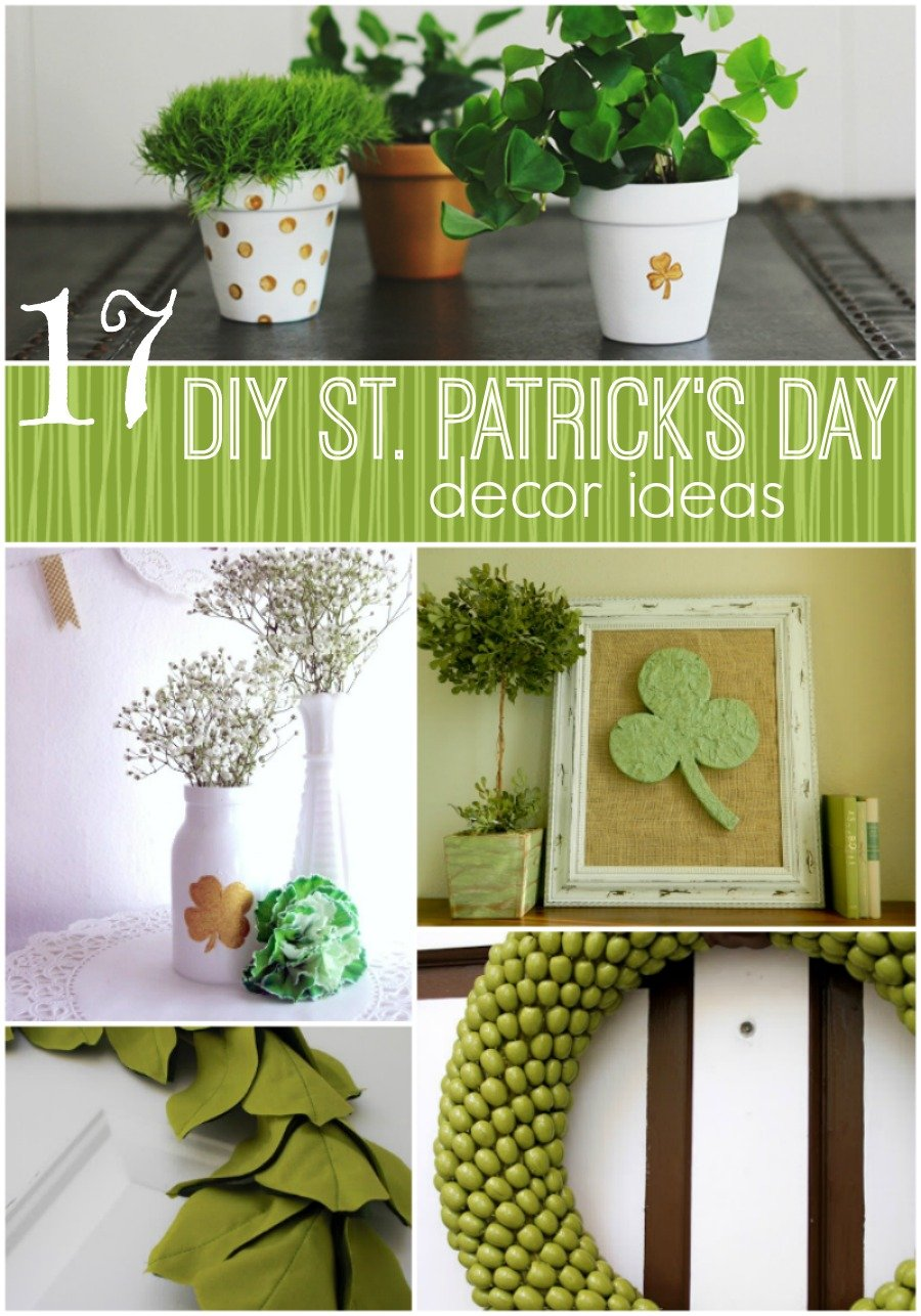 17 diy st patrick 39 s day decorating ideas the girl creative for Decor 17