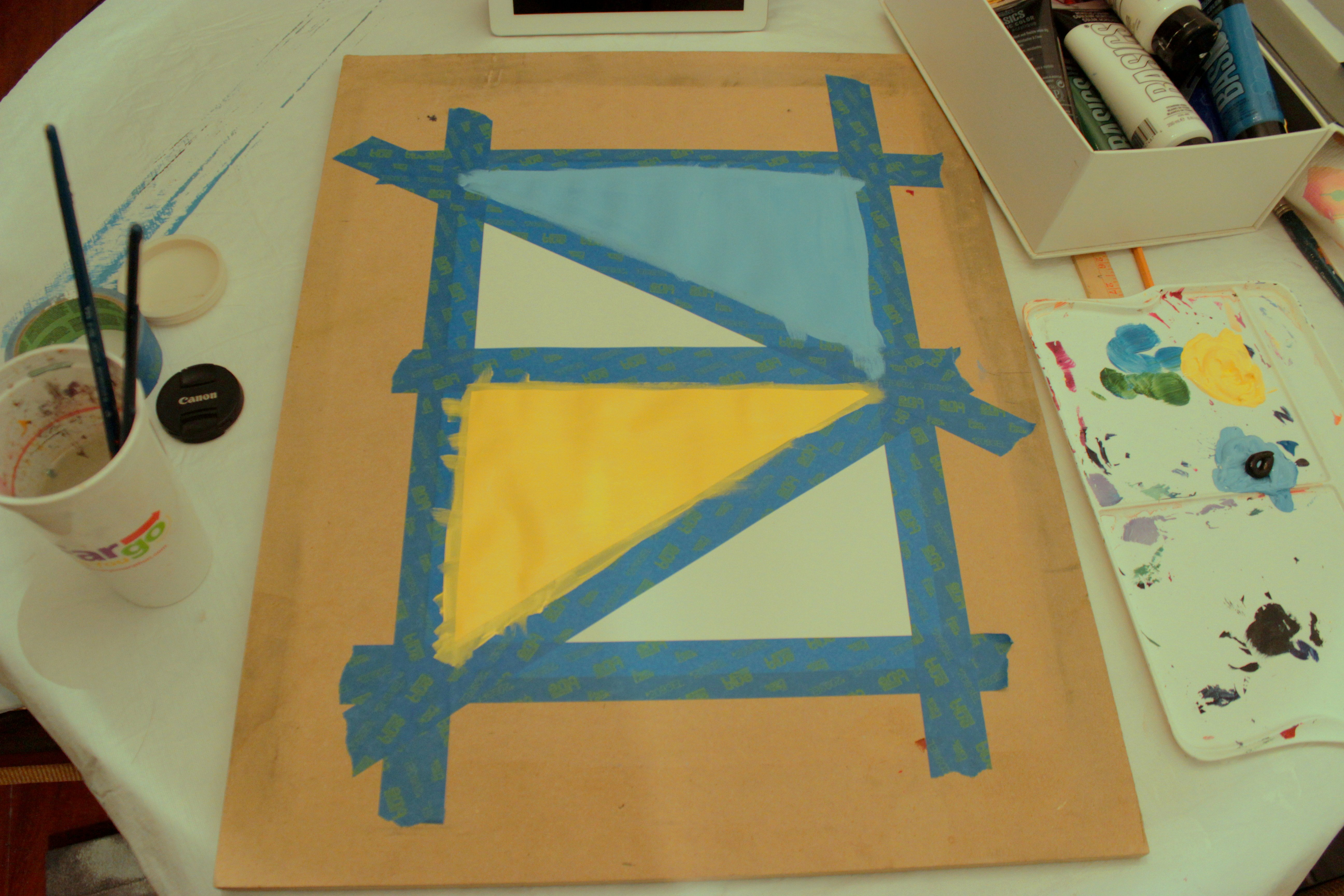 Geometric Artwork Painting