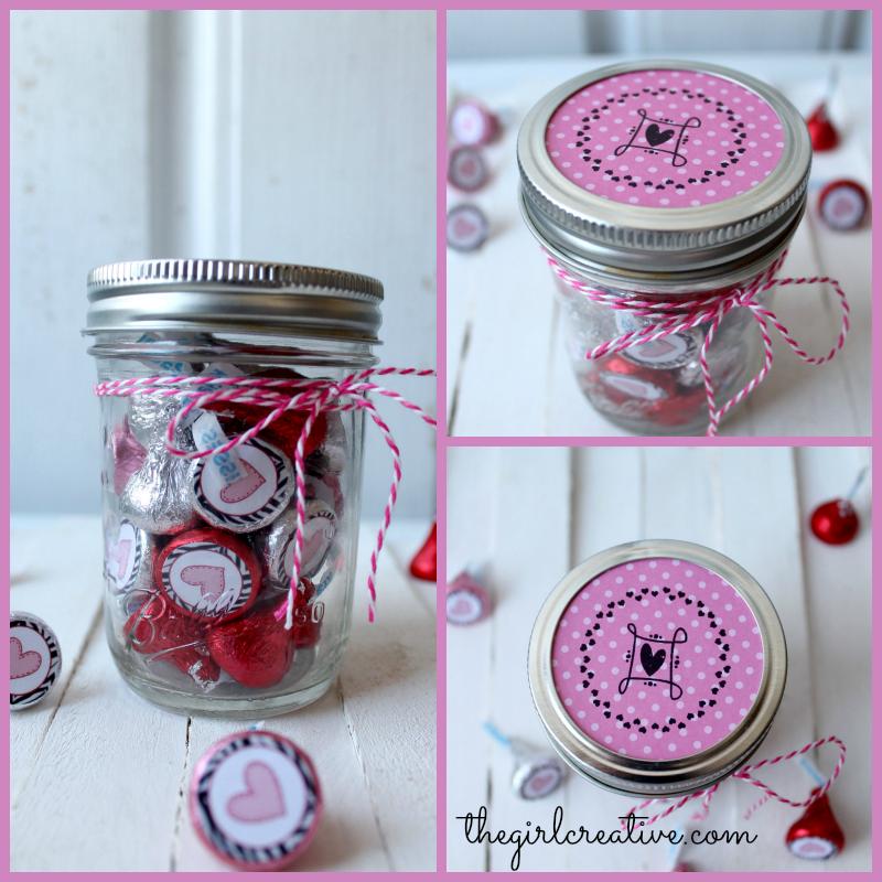 Hershey Kiss Valentines