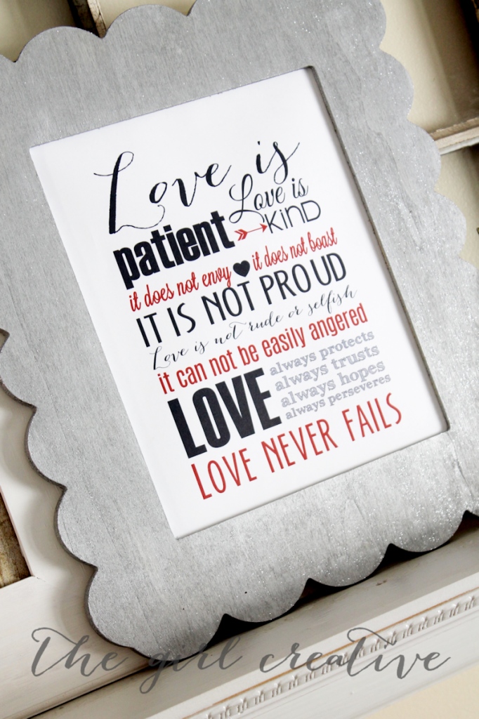 Love Subway Art Printable