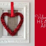 Valentine Heart Art