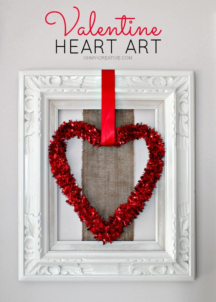 VALENTINE HEART ART  |  OHMY-CREATIVE.COM