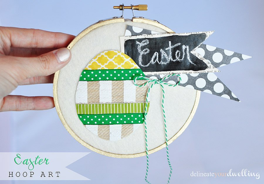 1 Easter Hoop Art