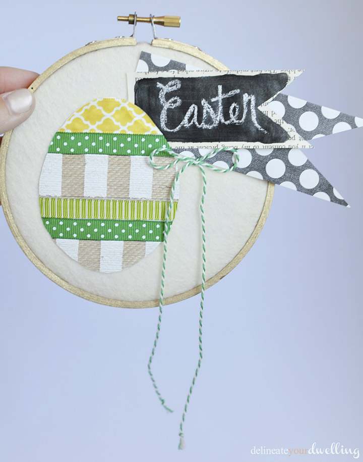 4 Easter Hoop Art