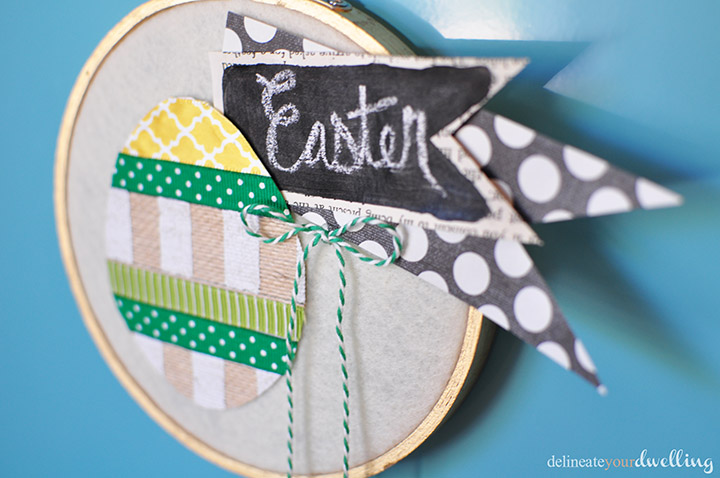 5 Easter Hoop Art