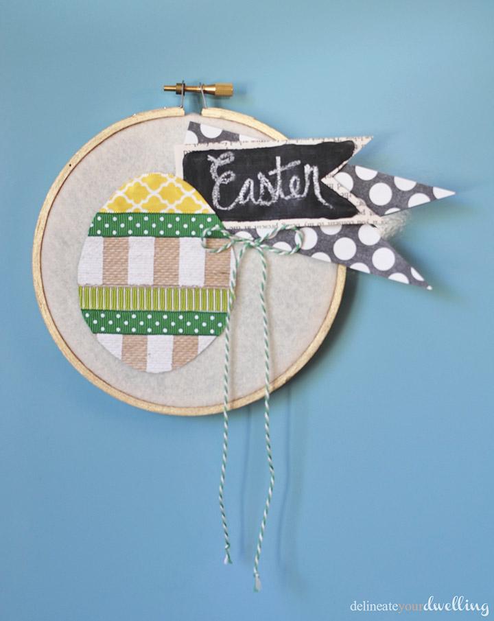 6 Easter Hoop Art