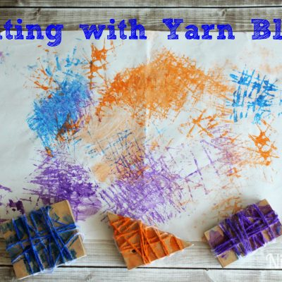 Painting with Yarn Blocks