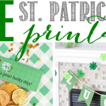 St. Patrick's Day Printables Collage-feature