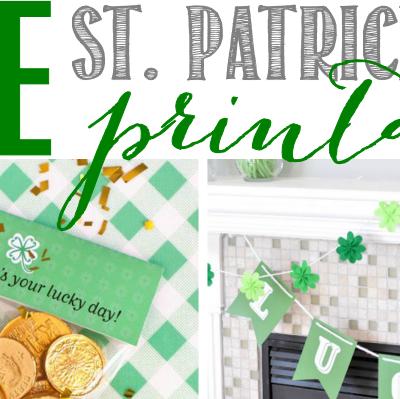 FREE St. Patrick's Day Printables