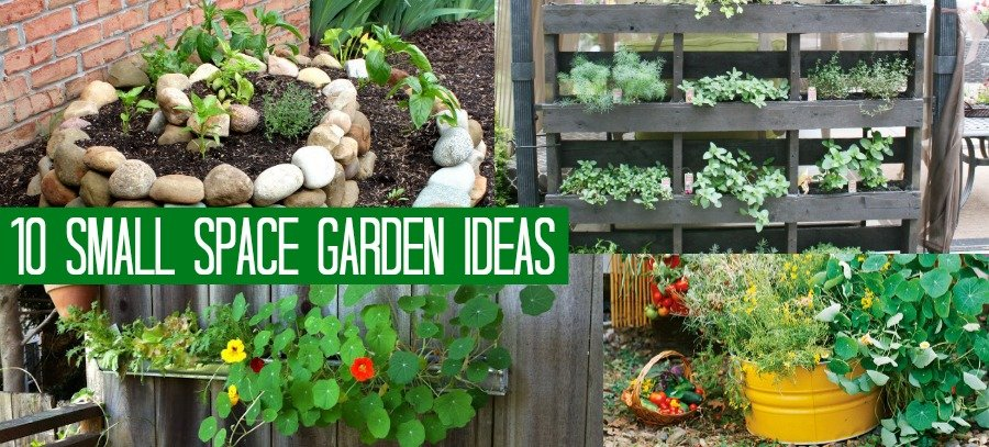 10 small space garden ideas and inspiration the girl creative gardening ideas for small spaces