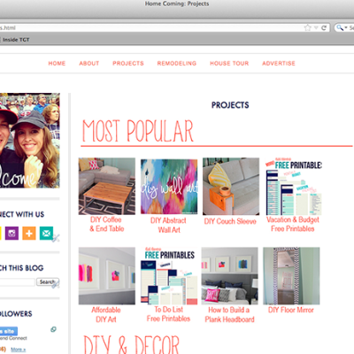 How to Create a Projects Directory on Blogger