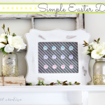 Simple Easter Decor