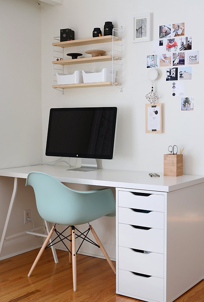 home office simple neat. Instagram Wall - Office Home Simple Neat