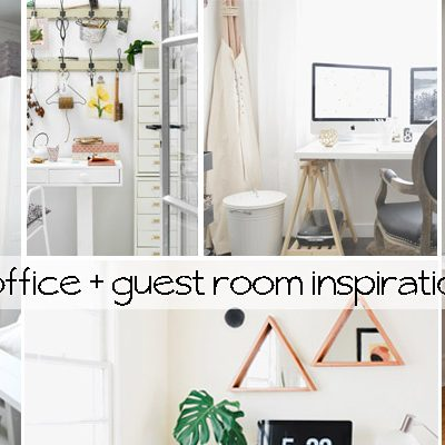 Office + Guest Room Inspiration