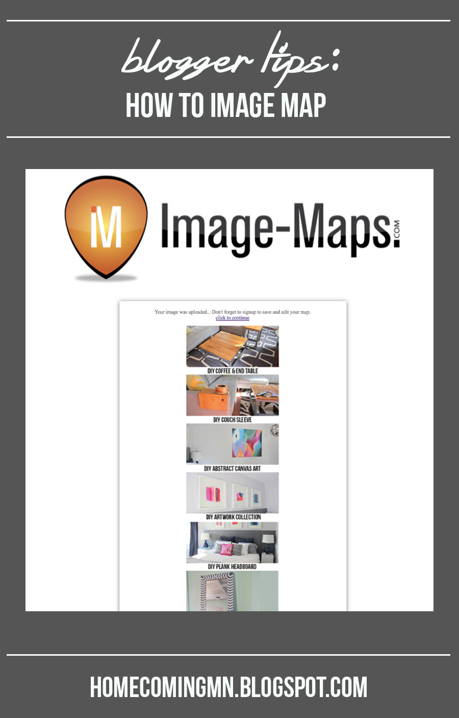 How to Image Map | Home Coming for thegirlcreative.com