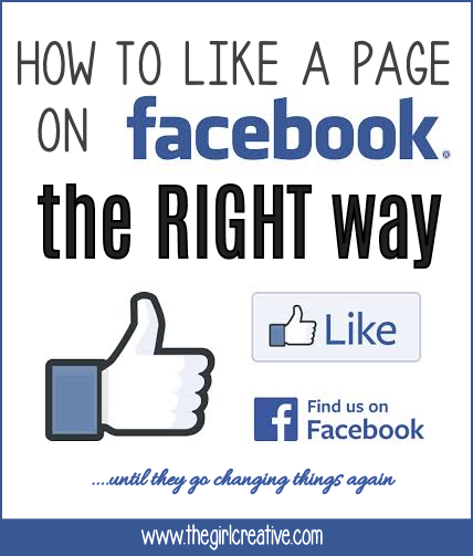 How to Like a Page on Facebook