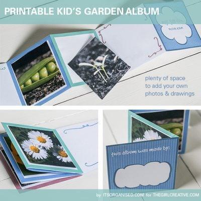Children's Printable Garden Album