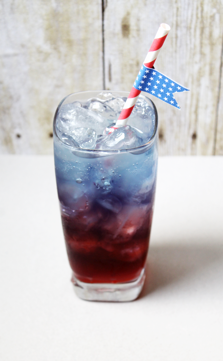 Patriotic Drink Flags