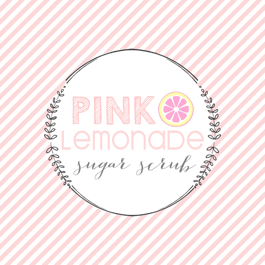 Pink Lemonade Sugar Scrub Labels
