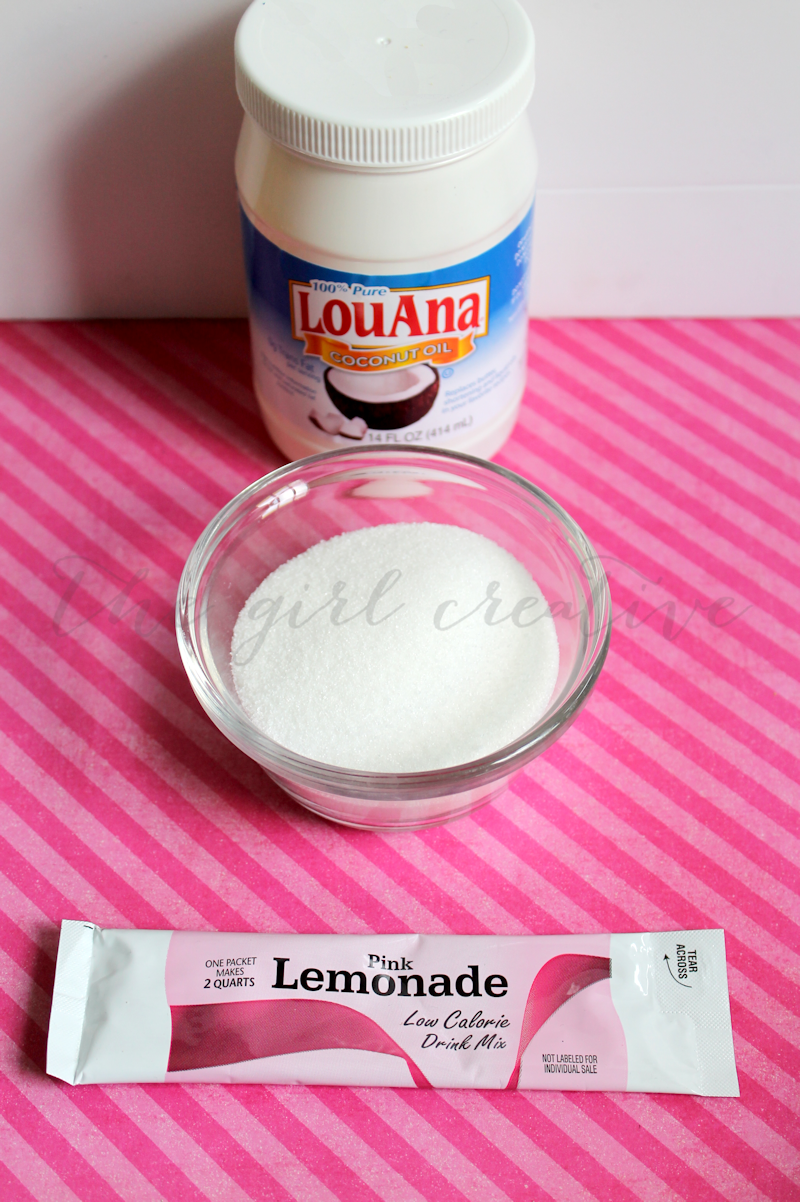 Pink Lemonade Sugar Scrub