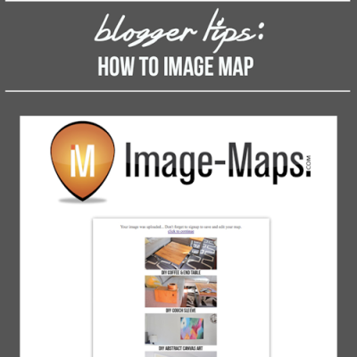 How to Image Map for bloggers
