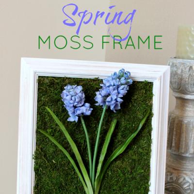 Spring Moss Frame