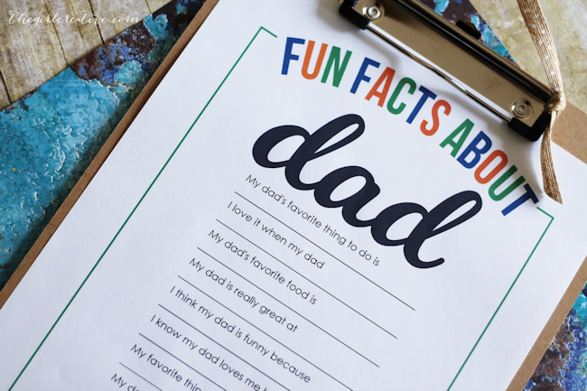 Fun Facts About Dad-content