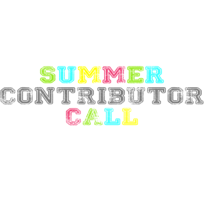 Summer Contributor Call