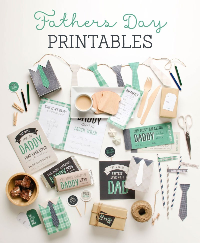 Free Father's Day Printables | Tiny Me