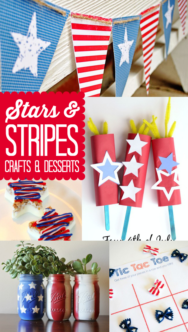 Stars & Stripes Crafts & Desserts