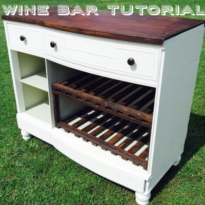 dresser to bar