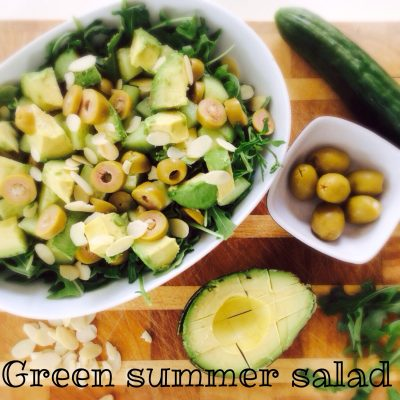 Green Summer Salad #whipitupwednesday