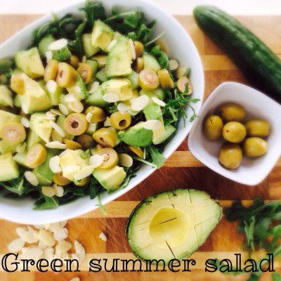Green Summer Salad #whipitupwednesday