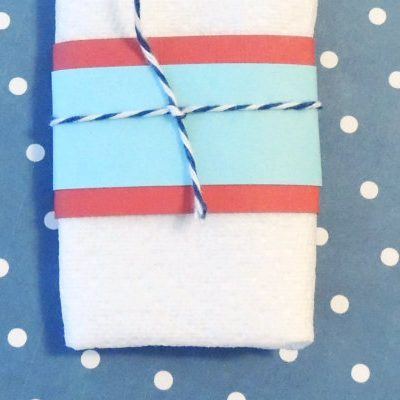 4th of July Napkin Wrapper