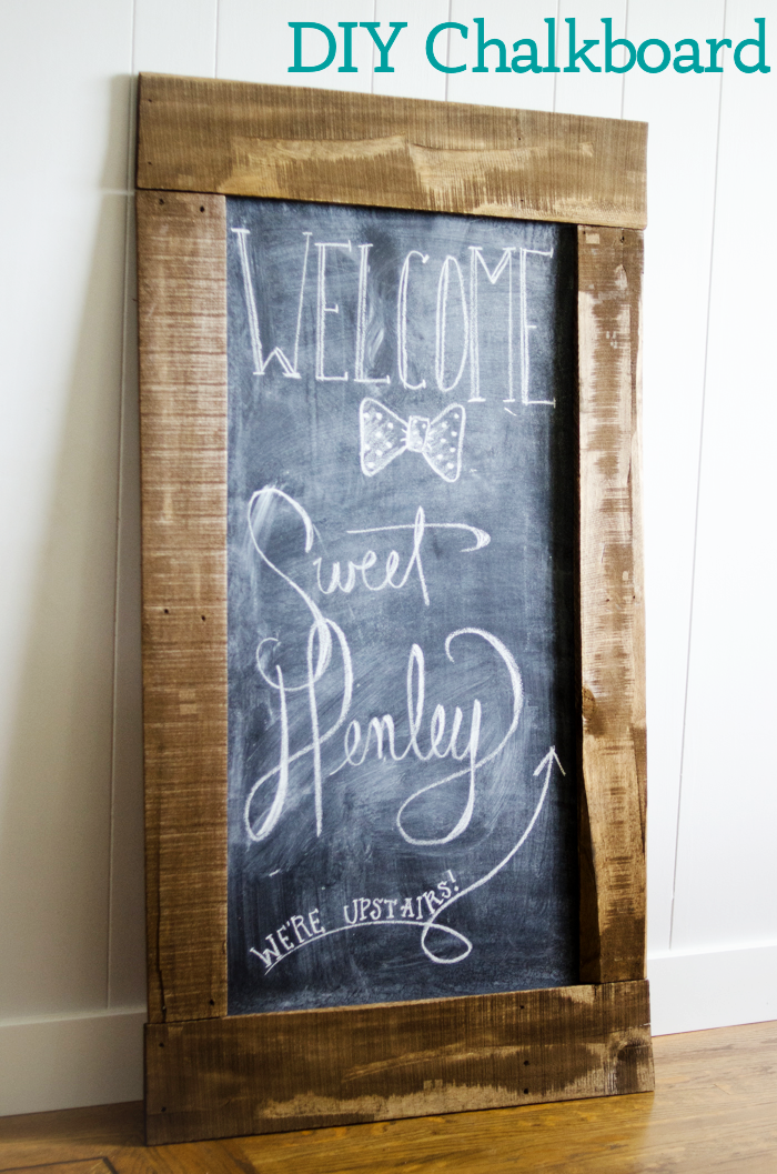 DIY Chalkboard for $10 | Pallet Craft Ideas | DIY Chalkboard Party Signs