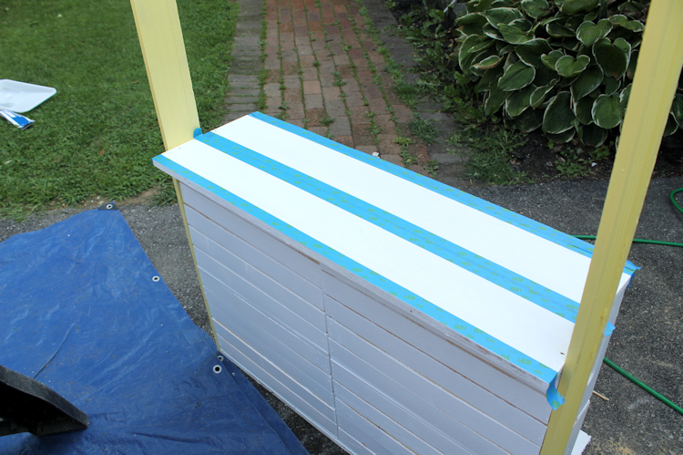 DIY Lemonade Stand Progress5