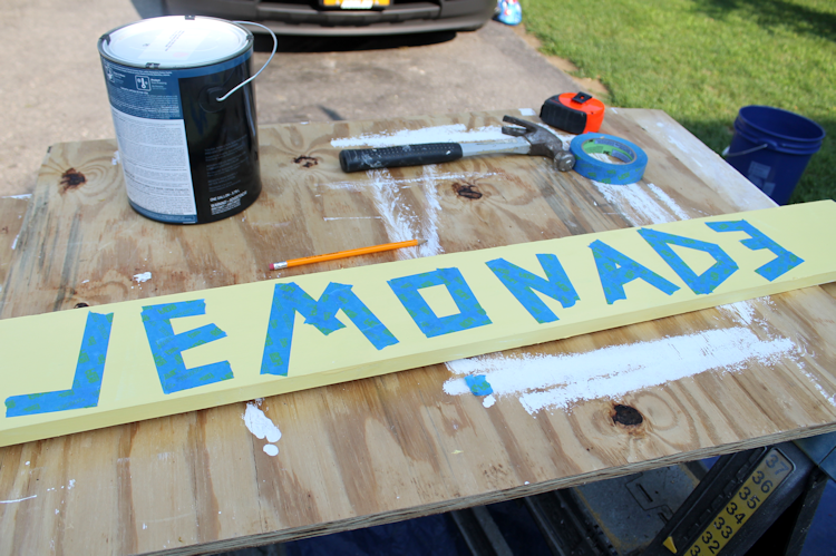 DIY Lemonade Stand Progress6
