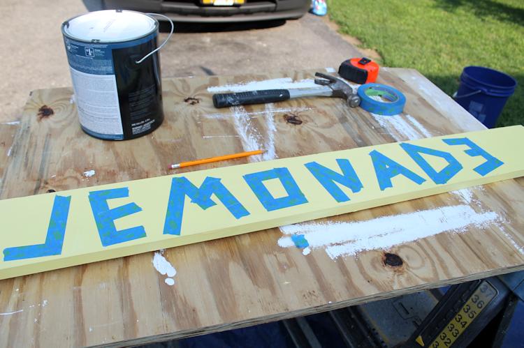 DIY Lemonade Stand Progress6